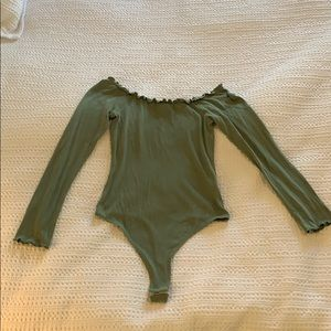 ASOS Green Body suit